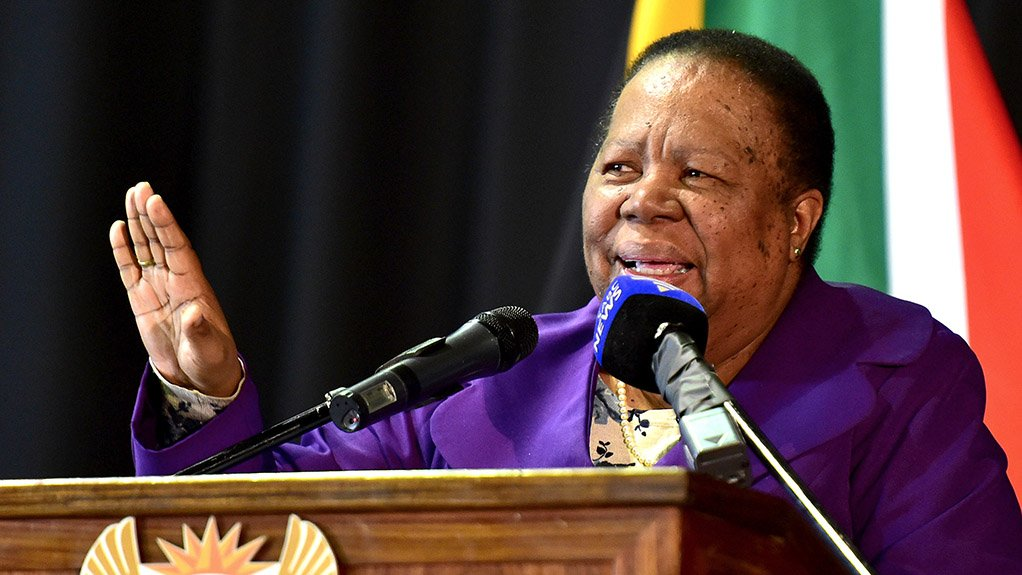 Minister of International Relations and Cooperation Naledi Pandor