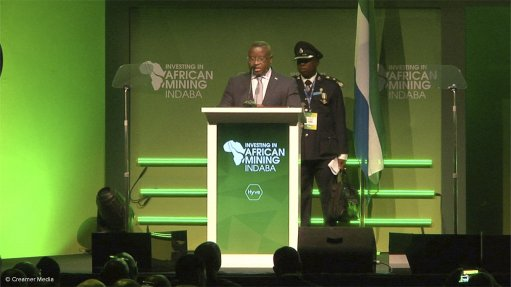 Video: Sierra Leone President addresses 2020 Mining Indaba