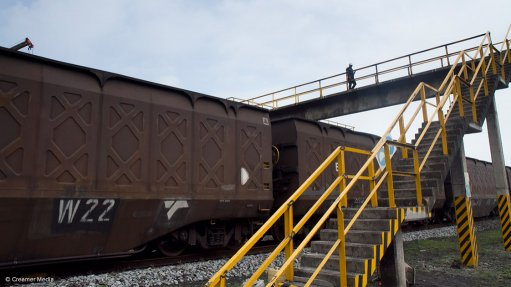 Transnet plans to boost the volume of coal transported by rail to Eskom
