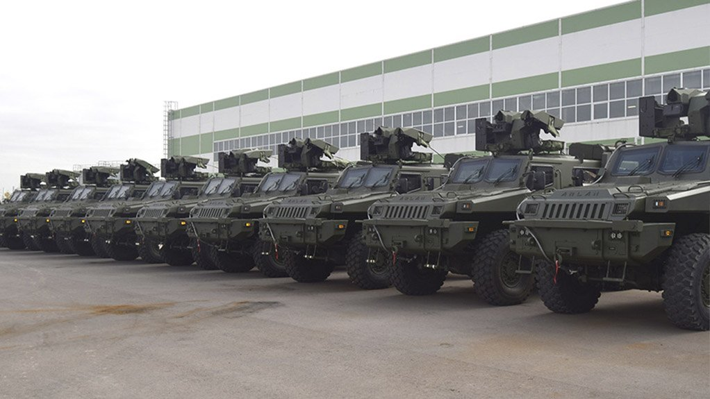 ROLL OUT The supply of 1 000 armored vehicles to the Kazakhstan government was finalized in November by Paramount Group