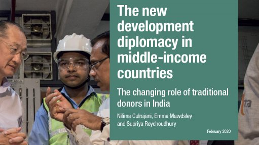 The new development diplomacy in middle-income countries: the changing role of traditional donors in India