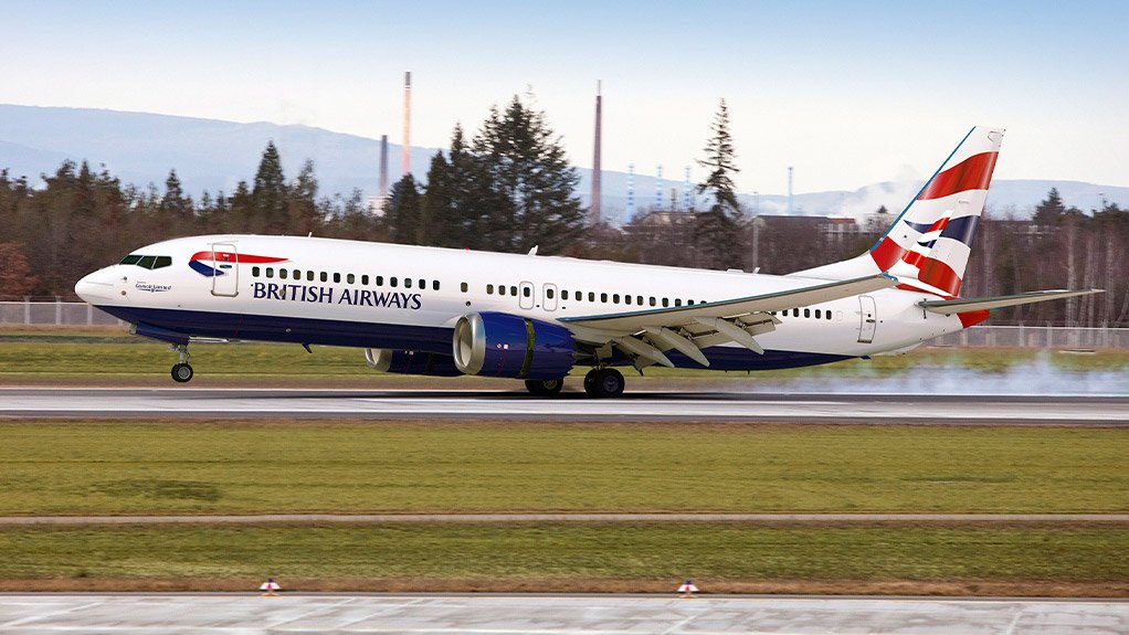 Costing money – Comair's first Boeing 737 MAX 8, which has been grounded for almost a year now