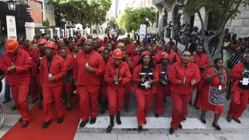 EFF MPs to face Parliament conduct committee after SoNA disruption