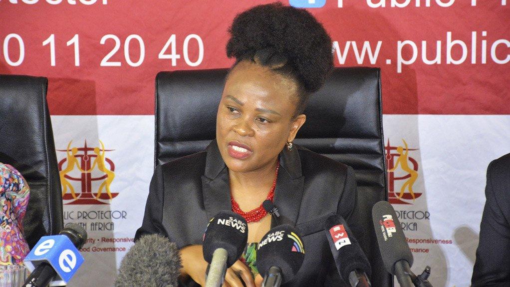 Public Protector Busisiwe Mkhwebane