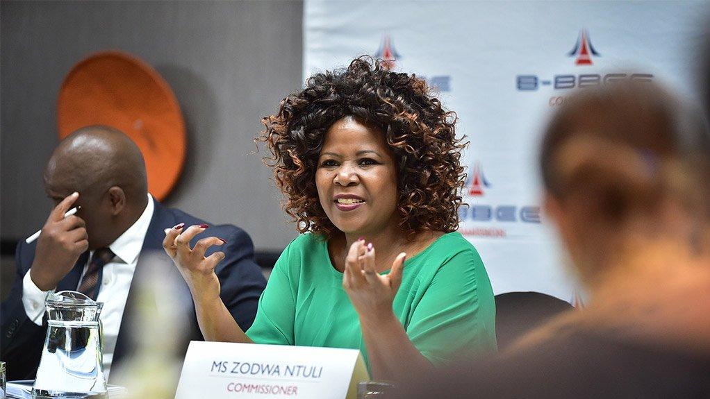 B-BBEE Commissioner, Zodwa Ntuli