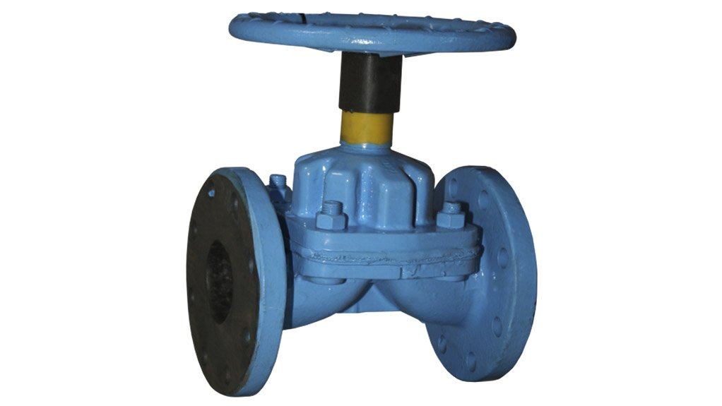 """""""A"""" VALVE The Saunders A series weir-type valve design is now available through Bearings International and Ernest Lowe"""