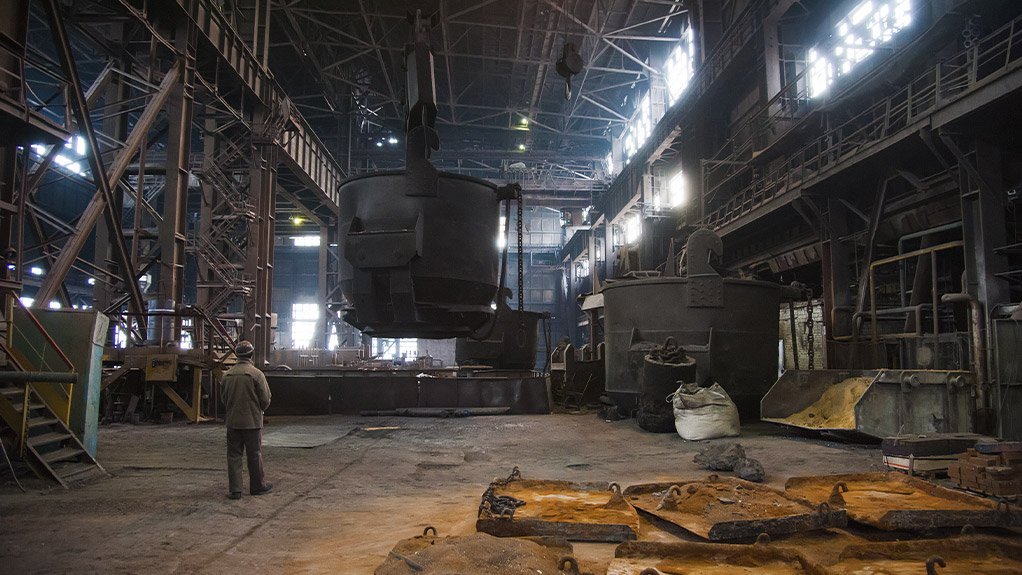 MANUFACTURING COOLDOWN Numerous South African foundries and smelters have doused their furnaces and shut their doors, leading to job losses in a number of manufacturing sectors