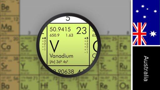 Saint Elmo vanadium project, Australia