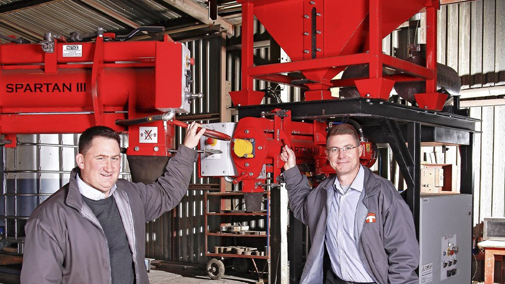 COMBATTING THE SLUMP  Thomas Foundry is talking to role-players in the railway and renewable energy sector, and looking to expand the company's product range into the sectors