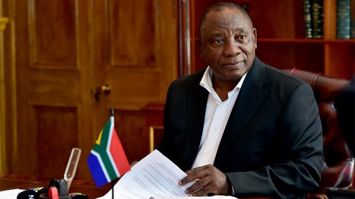 Ramaphosa makes case for containing public wage bill