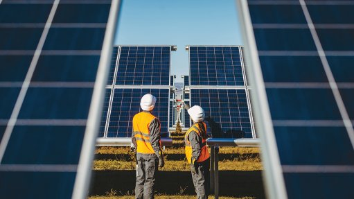 SUNNY DISPOSITION The global investment sector is increasingly more interested in funding renewable-energy projects, such as solar farms, as opposed to coal projects