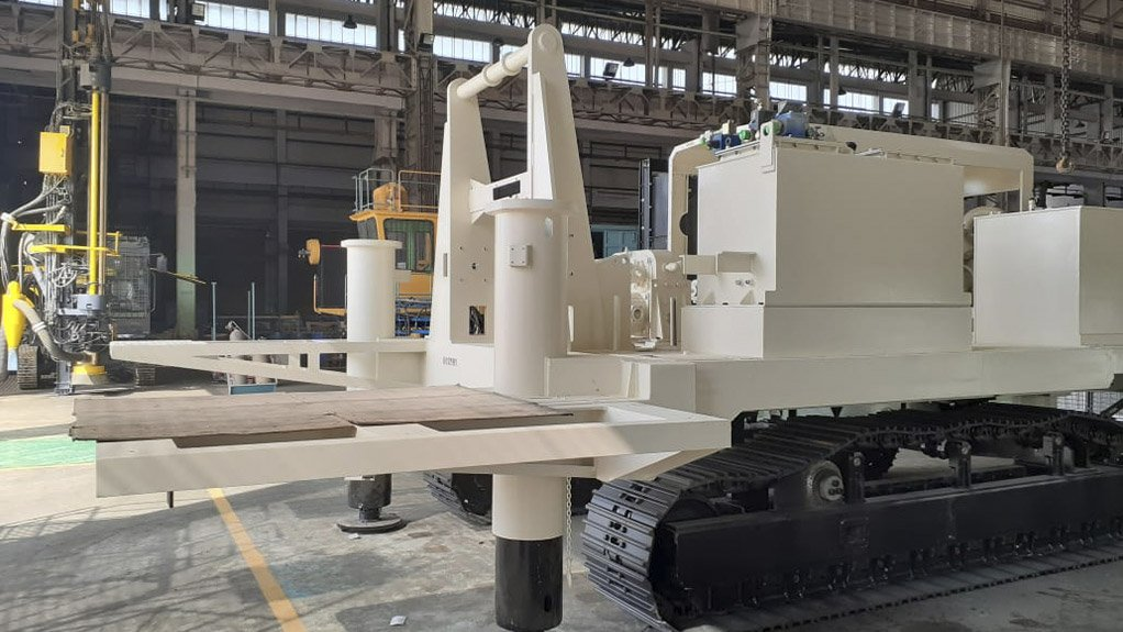 ROBO-DRILL ROLL OUT The C650 autonomous drills will be delivered to South Africa soon and, once commissioned, will begin trial operations at an opencast mine in Botswana