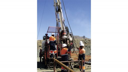 Geotechnical drilling improves safety at phosphate mine