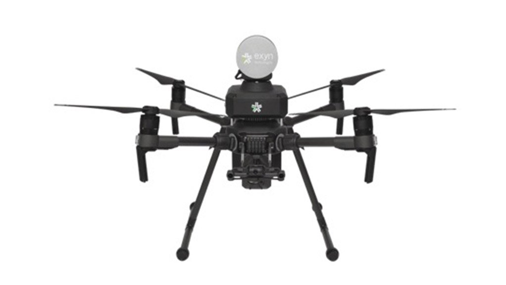 REACHING NEW HEIGHTS Exyn Technologies' fully autonomous aerial robots mapped 30 stopes in three days with a single drone