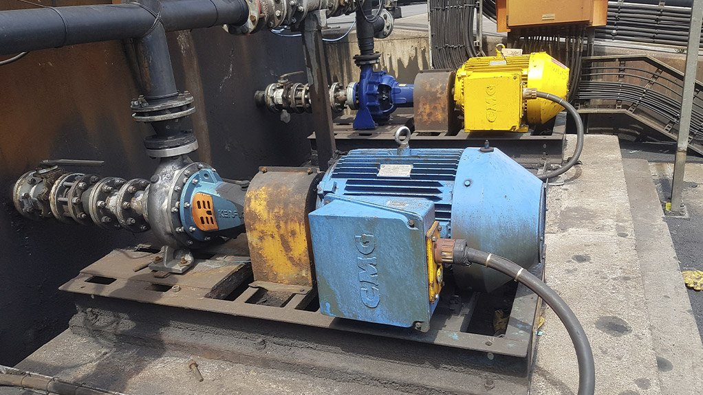 SHAFTED A misalignment between the pump and motor shafts had been causing failures at a coal mine