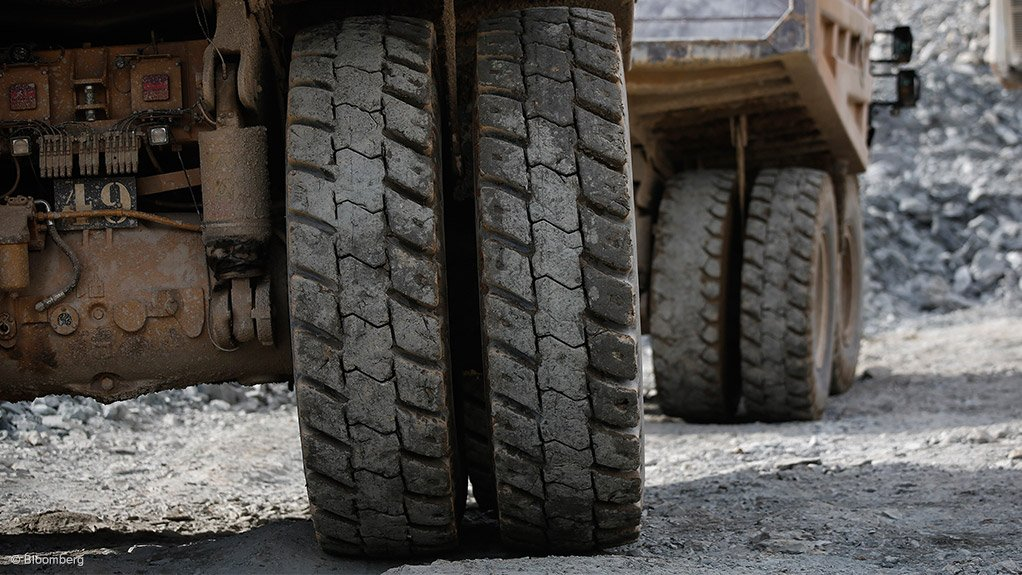 PAVING THE WAY  If roads are not constructed properly, undulations can form, increasing rolling resistance. This can cause increased diesel fumes from trucks and health and safety risks
