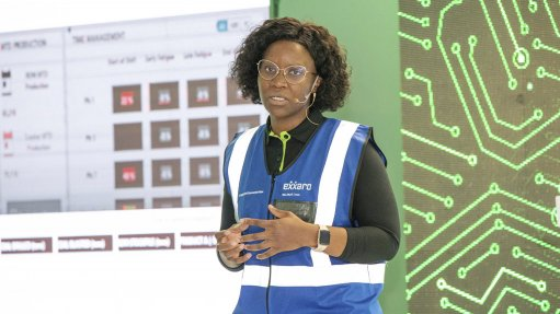 Exxaro appoints first-ever female mining manager