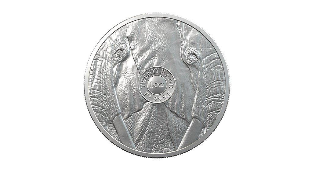 The reverse side of Prestige Bullion's first platinum range coin