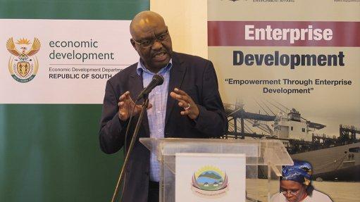 Trade and Industry Deputy Minister Fikile Majola