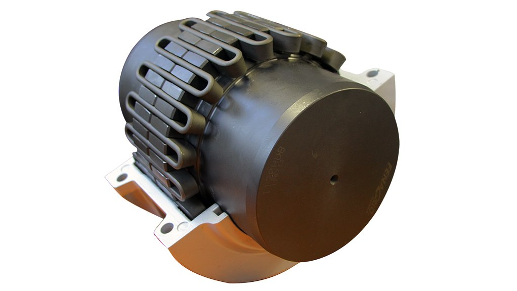 SOAKING UP  BMG's new Fenagrid Premium taper grid steel flexible couplings absorb considerable torque overloads, achieving smoother running, with consequent reduction of wear and tear on machinery