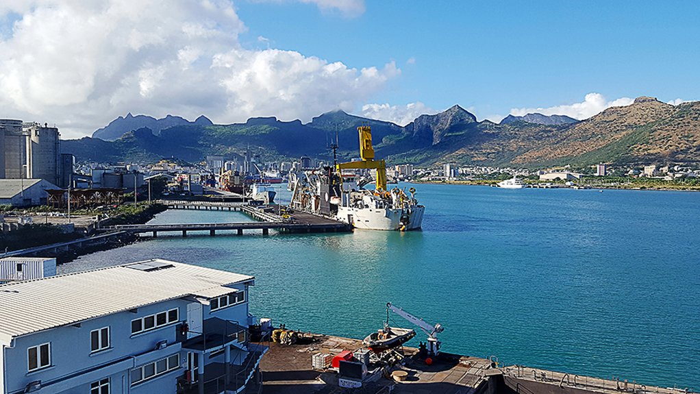 TRANSSHIPMENT HUB Port Louis in Mauritius is acting as hub port for transshipment of containers to other destinations