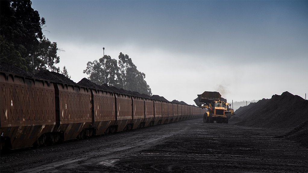 EAST SIDE LOOKING UP China will continue to require supplementary supplies of thermal coal, as it constitutes 60% of its energy source