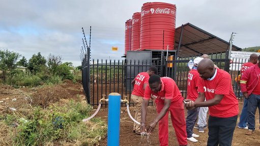 Coca-Cola starts up solar-powered boreholes in Limpopo community