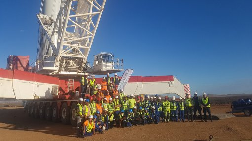 Kangnas turbine installations completed ahead of schedule