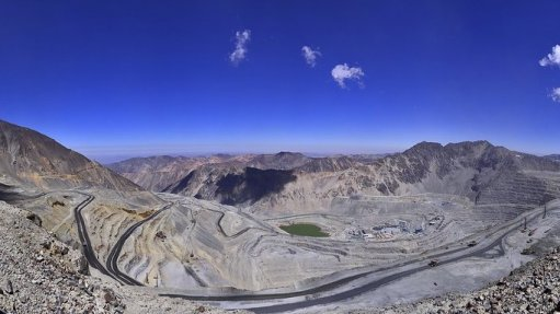 Anglo American reduces operations at Los Bronces copper mine in Chile