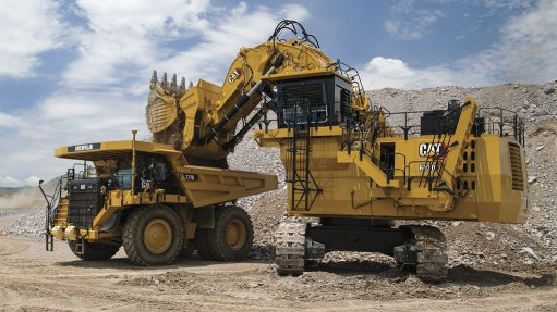 Hydraulic shovel meets strict emissions standards