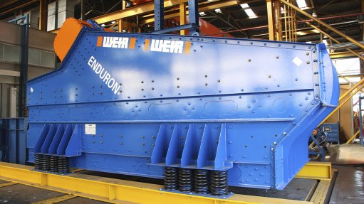 Improved local design for vibrating screens