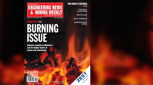 Engineering News & Mining Weekly e-magazine now available