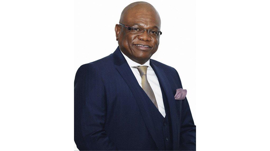City of Johannesburg Mayor Geoffrey Makhubo