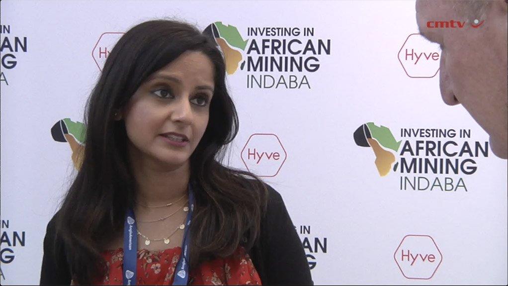 LBMA executive board director Sakhila Mirza.