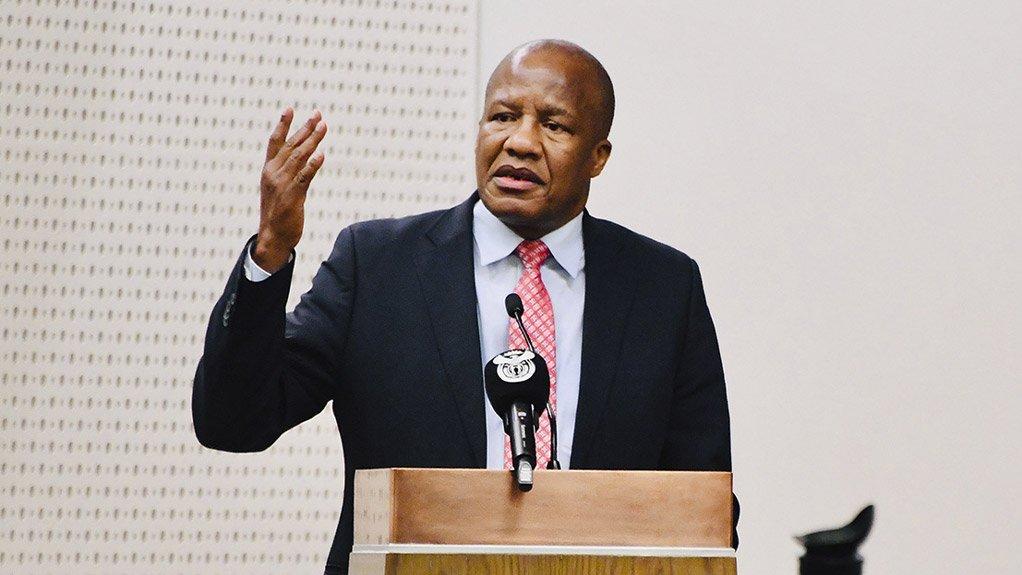 Minister in the Presidency Jackson Mthembu