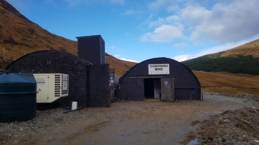 Development work at Scotland's first commercial gold mine comes to a halt