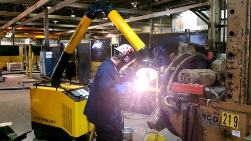 BMG's products and solutions for welding fume extraction