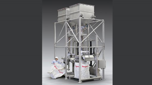 Ultra-high capacity bulk bag filling system