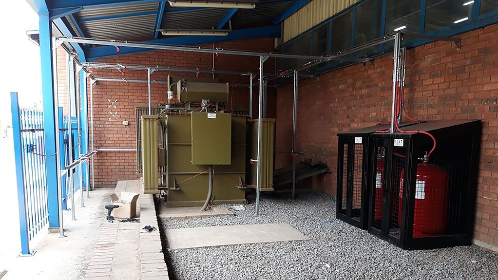 LOCALISED SUPPRESSION I-CAT has several installations of its localised suppression system scheduled for transformers in Mozambique and Ghana