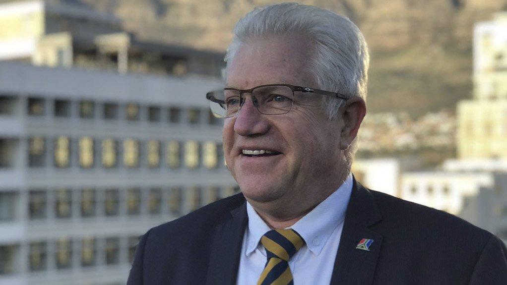 Western Cape Premier Alan Winde