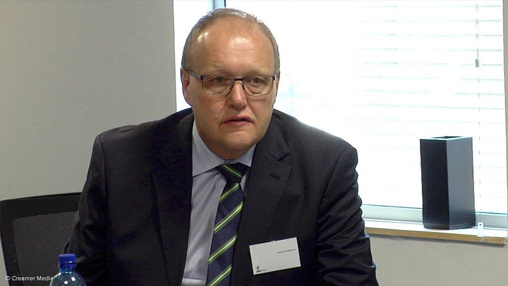 Gold Fields executive VP Martin Preece
