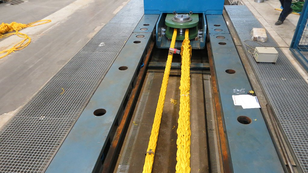 Steppingstone The certification is an important steppingstone in the wider market acceptance of heavy lift, fibre rope slings