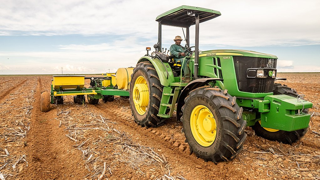 TRACTORS FOR AFRICA The new 6B tractors were designed specifically with Africa in mind