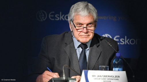 Eskom probe clears Chief Operating Officer Jan Oberholzer