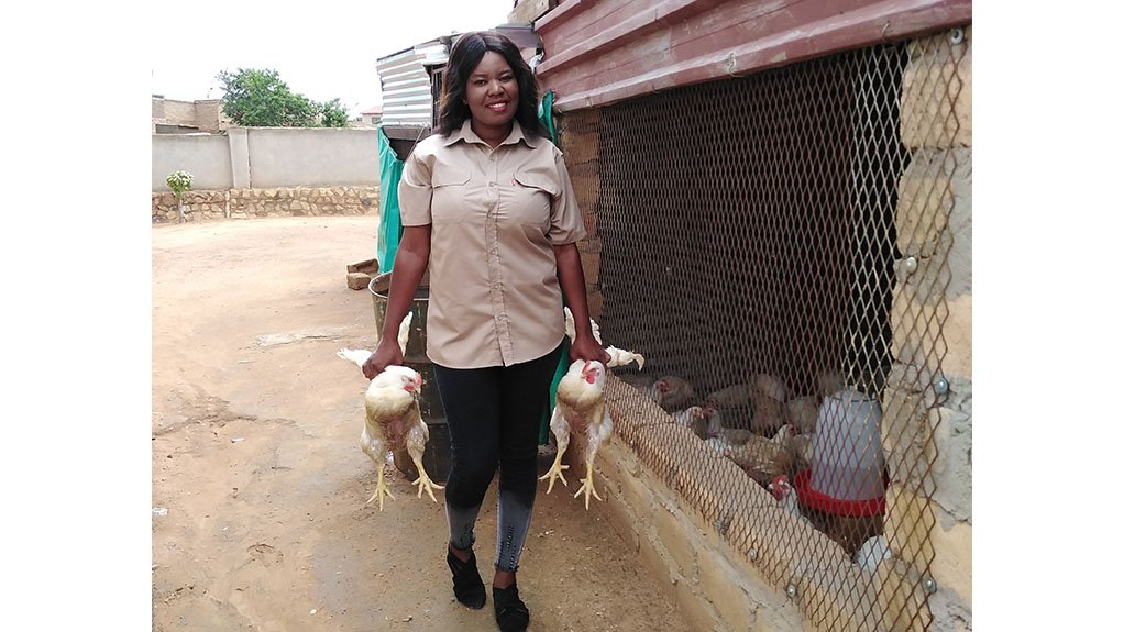 At 30-years-old, Khethiwe Promise Maseko is already on the path to building one of the biggest chicken farming operations in her hometown of Ekangala in Mpumalanga