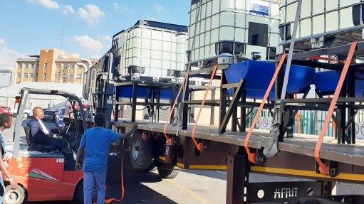 AngloGold, Sasol, Imperial provide bulk sanitiser to Gauteng hospitals