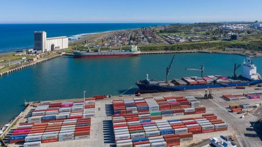 East London port continues to facilitate movement of critical cargo