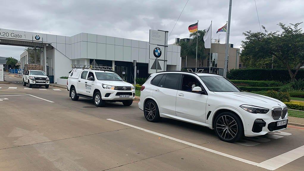 BMW South Africa donates 40000 high-grade masks to Gauteng govt