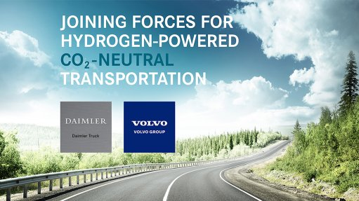 Daimler, Volvo form JV to develop, produce fuel-cell systems for trucks