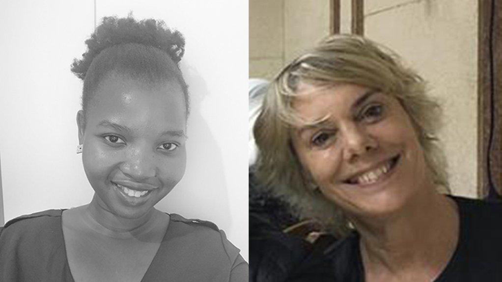 WWF-SA's Khodani Mulaudzi and Louise Scholtz